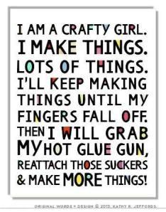I make things
