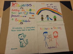 kindness quilt patches